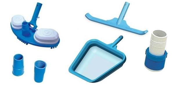 Qual o material de limpeza para piscina for Material de piscina